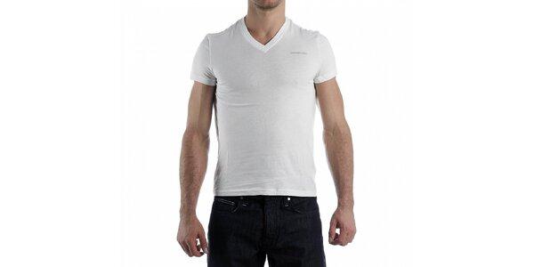 Pánske biele tričko Calvin Klein
