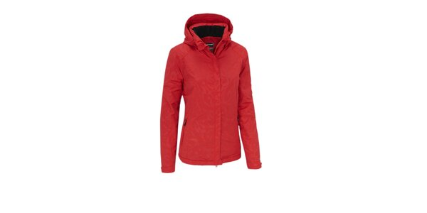 Dámska červená nepromokavá bunda Maier s membránou