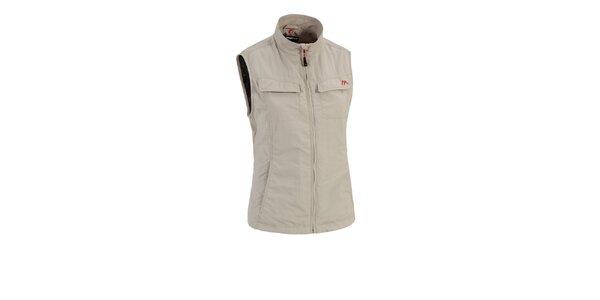 Dámska béžová outdoorová vesta Maier