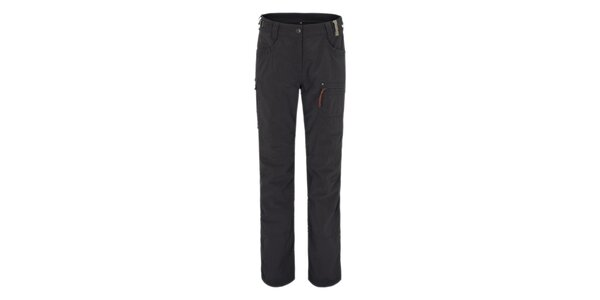 Dámske čierne outdoorové funkčné nohavice Maier