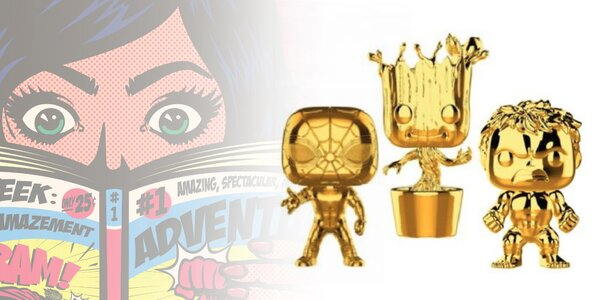 Zberateľské figúrky Marvel hrdinov od Funko POP