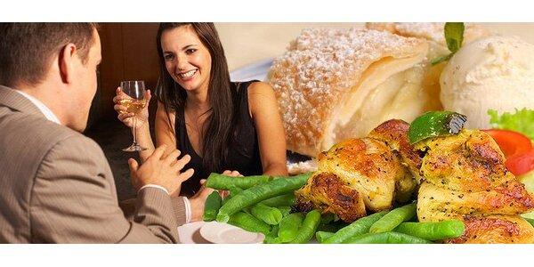 6 eur za romantickú večeru pre dvoch v reštaurácii Išľa