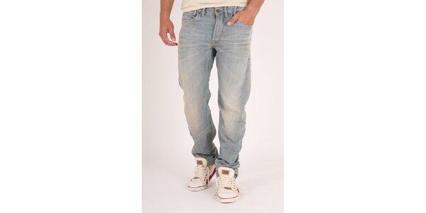 Pánske svetlo modré džínsy Pepe Jeans