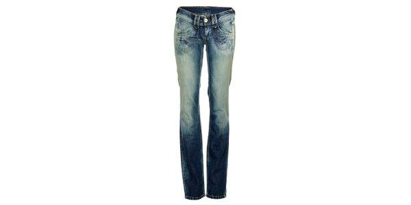 Dámske modré džínsy Pepe Jeans