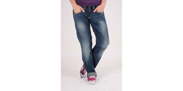 Široké dámske džínsy Pepe Jeans
