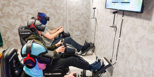 Pretekársky zážitok s virtuálnou realitou