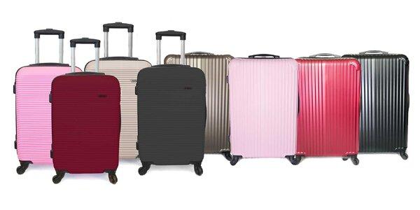 Kvalitné škrupinové kufre - na výber dva druhy