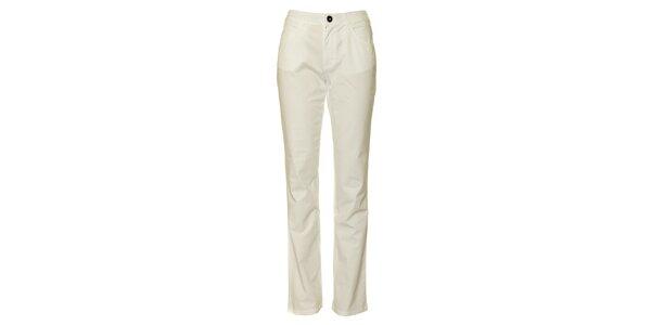 Dámske biele chino nohavice TBS
