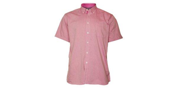 Pánska ružová košeľa TBS