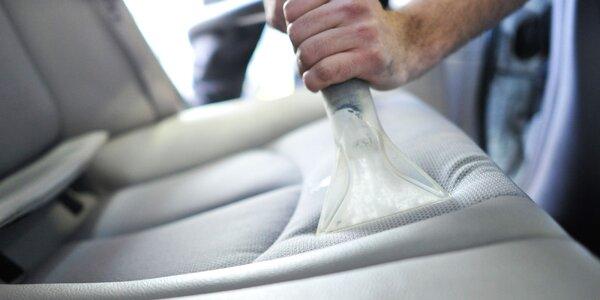 Kvalitné čistenie interiéru všetkých automobilov