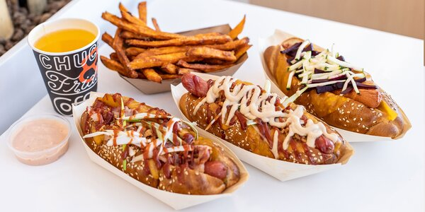 Dokonalé Hot Dogy od Chuck & Frida HOTDOGS