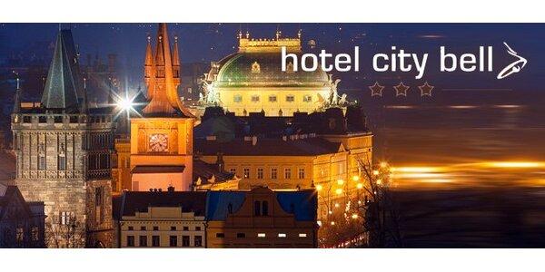 59 eur za 3-dňový pobyt pre dvoch v Hotel City Bell*** v Prahe