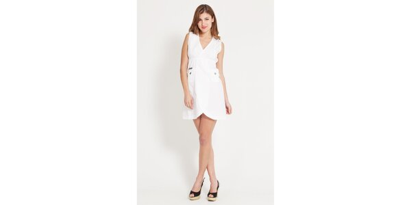 Dámske biele šaty Lois