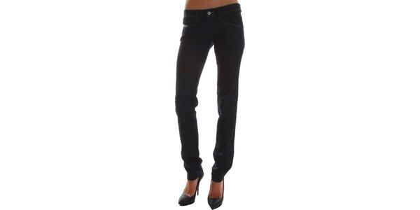 Dámske úzke džínsy vo farbe noci Diesel