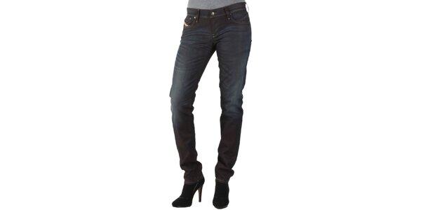 Dámske čierne džínsy Diesel
