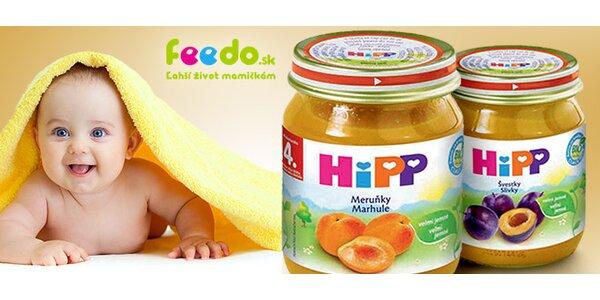 Detské príkrmy HiPP BIO (9 ks x 125 g)