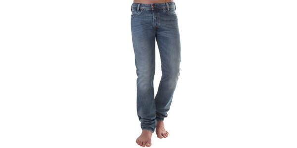 Pánske modré džínsy Diesel