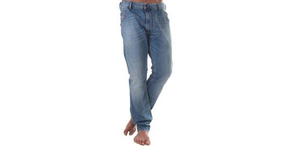Pánske modré ležérne džínsy Diesel