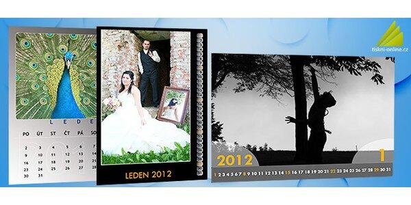 Fotokalendáre z vašich fotografií - A3 alebo A4