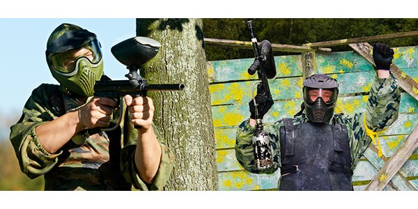 Paintball na Cemjate