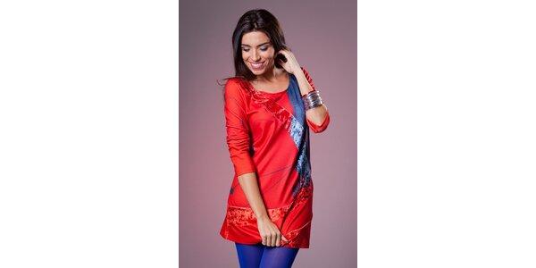 Dámske červená šaty Culito from Spain