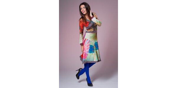 Dámske pestrofarebné šaty Culito from Spain