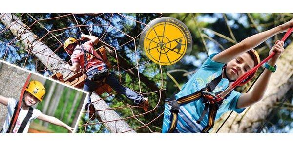 Vstup do Lanového parku Preles v Žiline