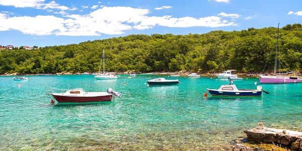 Rodinný pobyt na chorvátskom ostrove Krk