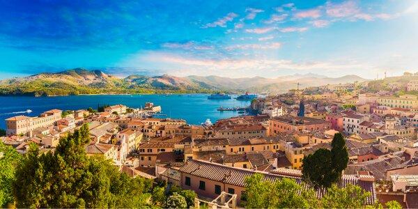 Zájazd do Talianska: Florencia, Pisa a Napoleonova Elba s kúpaním v mori
