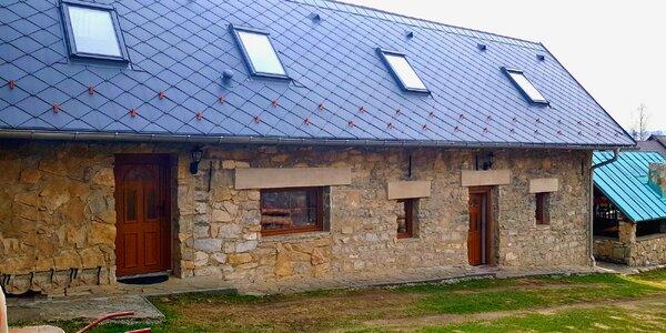 Pobyt v Kamennom domčeku s veľkou kapacitou v obci Štrba