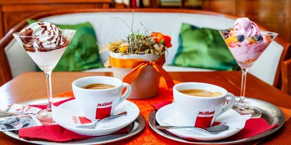 Espresso Musetti s točenou zmrzlinou Algida Softie