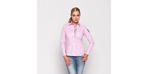 Dámska svetlo ružová košeľa Giorgio di Mare