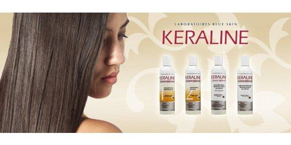 43 eur za brazílsky keratín Keraline pre ošetrenie vlasov