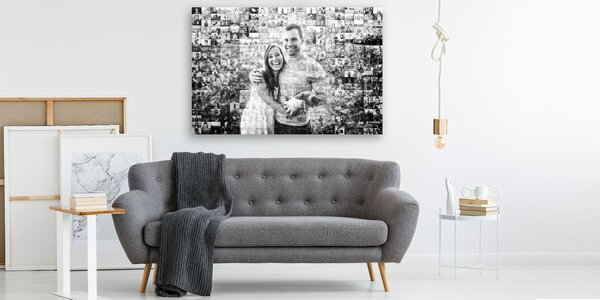 Mozaikový obraz z vlastných fotografií