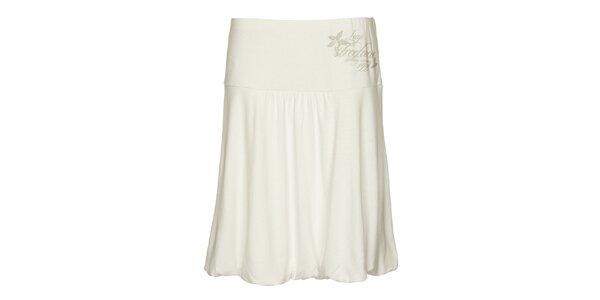 Dámska biela balonová sukňa Loap
