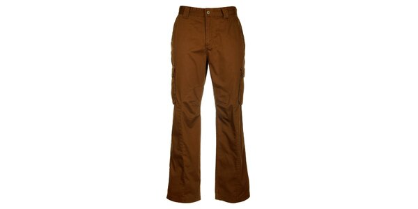 Dámske hnedé športové nohavice Loap