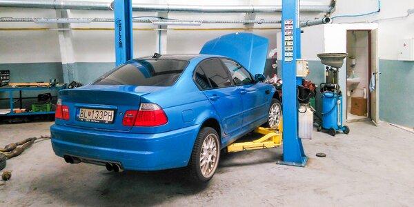 Kompletná diagnostika riadiacich jednotiek v aute