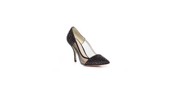 Čierne topánky z dielne Bourne v čiernom prevedení