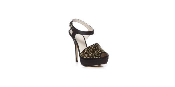 Čierne mestské topánky Bourne