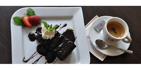 Čokoládovník s kávou