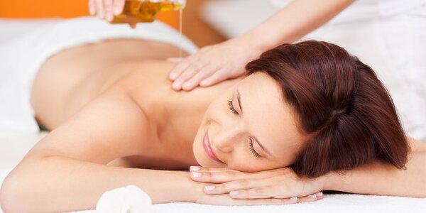 Masáž BIO kokosovým olejom alebo reflexná masáž chodidiel