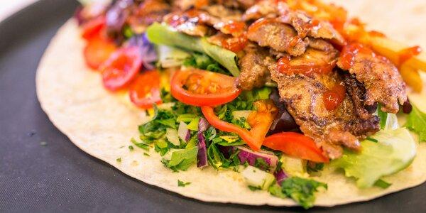Malý alebo extra XXL kebab v tortille