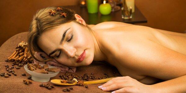 Klasická masáž alebo Relaxačná masáž so škoricovým olejom
