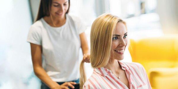 Vlasová kúra + strih vlasov alebo pánsky strih