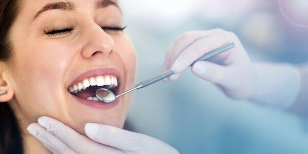Dentálna hygiena s pieskovaním a fluoridáciou