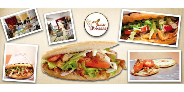 Kurací kebab v žemli