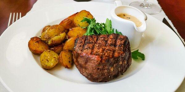 Exkluzívny steak z pravej uruguajskej sviečkovice v HOTEL PARK AVENUE****