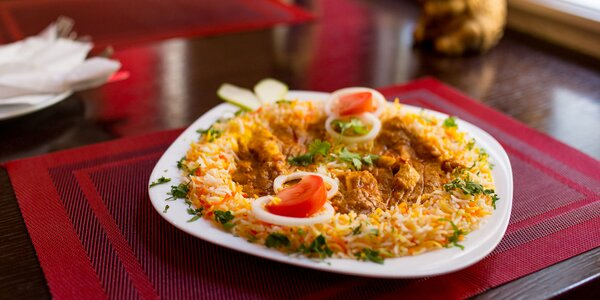 Chicken Curry s Basmati ryžou v centre Košíc
