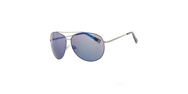 Dámske modrošedé slnečné okuliare Michael Kors