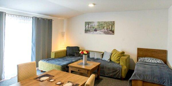 Pobyt vo Valčianskej doline v nových priestranných apartmánoch